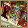 Tarot decks,<br/>Oracles cards