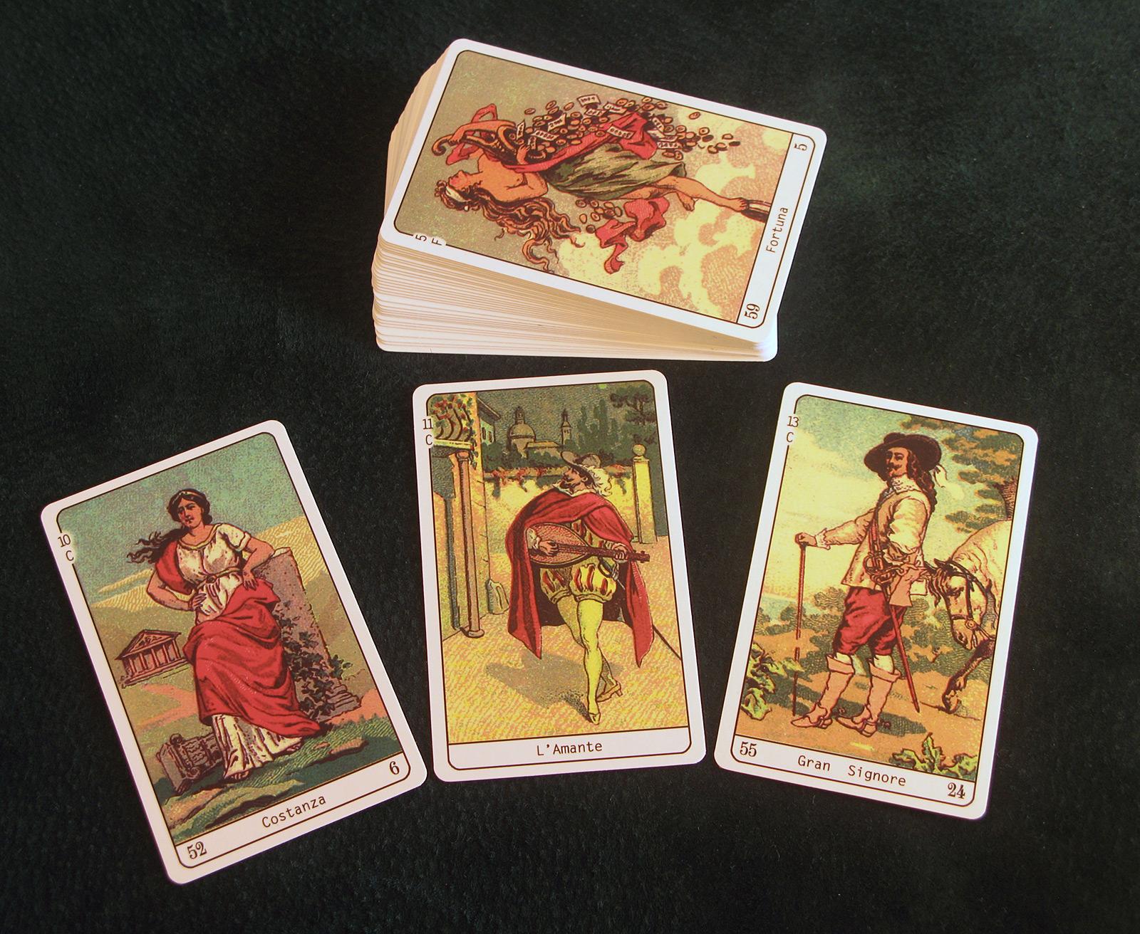 Buy Tarot cards - Sibilla Della Zingara (Gypsy Fortune Telling Oracle)